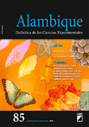 REVISTA ALAMBIQUE - 085 (JULIO 16) - La luz