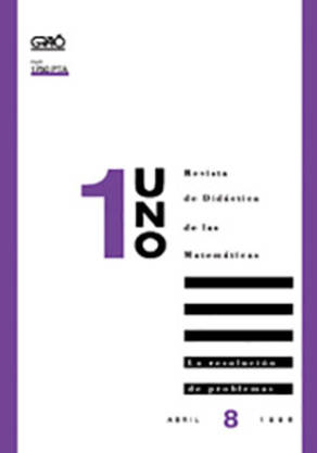 REVISTA UNO - 008 (ABRIL 96)- LA RESOLUCION DE PROBLEMAS