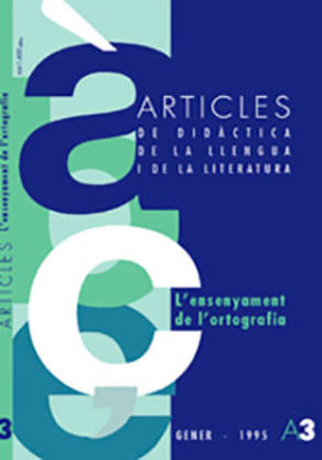 REVISTA ARTICLES - 003 (GENER 95) - L'ensenyament de l'ortografia