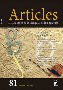 REVISTA ARTICLES - 081 (ABRIL 19) Reflexió interlingüística